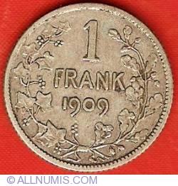 Image #2 of 1 Franc 1909 (Dutch)