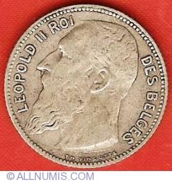 Image #1 of 1 Franc 1909 (French)