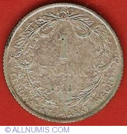 Image #2 of 1 Franc 1911 (Dutch)