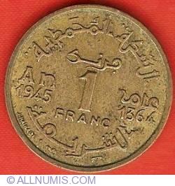 Imaginea #2 a 1 Franc 1945 (AH1364)