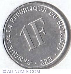 Image #1 of 1 Franc 1993