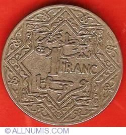 Imaginea #2 a 1 Franc ND (1921)