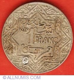 Imaginea #2 a 1 Franc ND (1924)