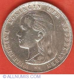 Image #1 of 1 Gulden (100 Cents) 1892
