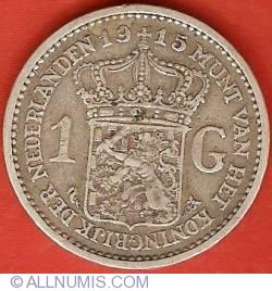 Image #2 of 1 Gulden 1915