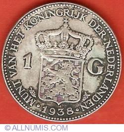 Image #2 of 1 Gulden 1938
