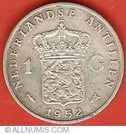 Imaginea #2 a 1 Gulden 1952