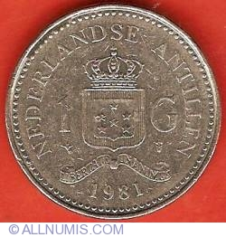 Image #2 of 1 Gulden 1981