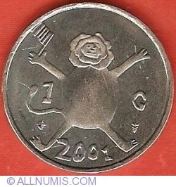 Image #2 of 1 Gulden 2001
