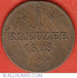 Imaginea #2 a 1 Kreuzer 1828