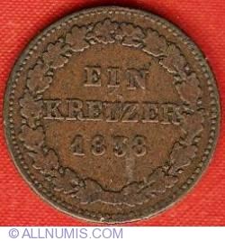 Image #2 of 1 Kreuzer 1838