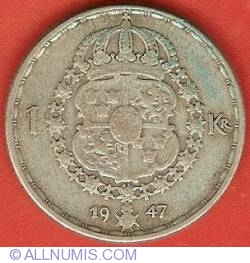 Image #2 of 1 Krona 1947