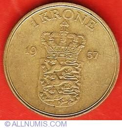 Imaginea #2 a 1 Krone 1957
