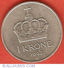 Image #2 of 1 Krone 1992