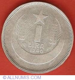 Image #2 of 1 Lira 1940