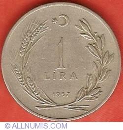 Image #2 of 1 Lira 1957