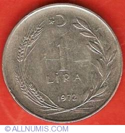 Imaginea #2 a 1 Lira 1972