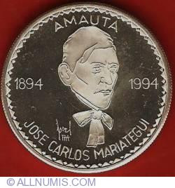 Image #2 of 1 Nuevo Sol 1994 - Juan Carlos Mariategui