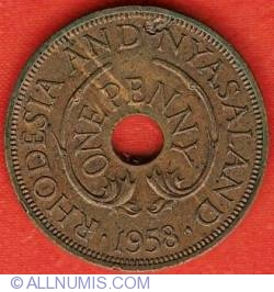 Image #2 of 1 Penny 1958