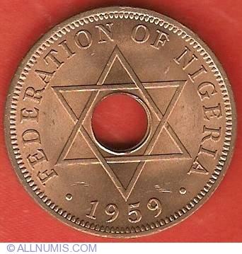 1959 Nigeria 1 Penny