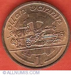 Image #2 of 1 Penny 1991 AA