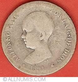 1 Peseta 1891 (91) PG-M