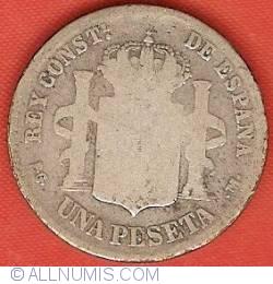 Imaginea #2 a 1 Peseta 1891 (91) PG-M
