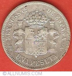 1 Peseta 1894 (94) PG-V