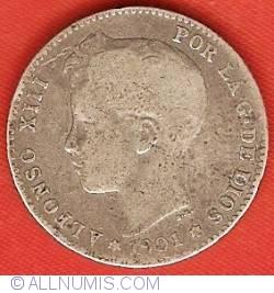 Image #1 of 1 Peseta 1901 (01) SM-V