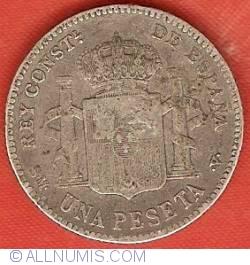 Image #2 of 1 Peseta 1901 (01) SM-V