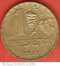 Image #1 of 1 Peseta 1937