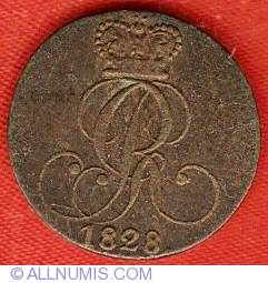 Image #1 of 1 Pfennig 1828