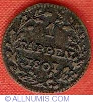 Image #2 of 1 Rappen 1801