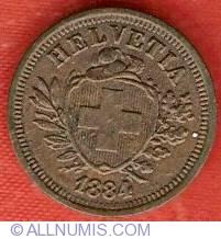 Image #1 of 1 Rappen 1884