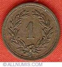 Image #2 of 1 Rappen 1934