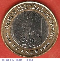 Image #1 of 1 Real 2005 - 40th Anniversary Central Bank of Brasil