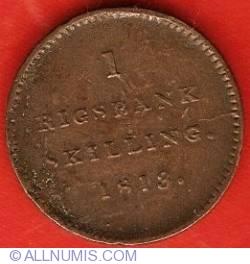 Image #2 of 1 Rigsbankskilling 1813