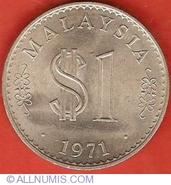 Imaginea #1 a 1 Ringgit 1971