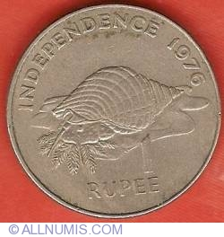 Image #2 of 1 Rupee 1976 - Declaration of Independence