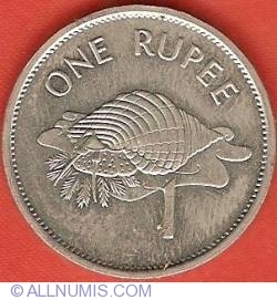 Image #2 of 1 Rupee 1992