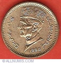Image #1 of 1 Rupee 1998