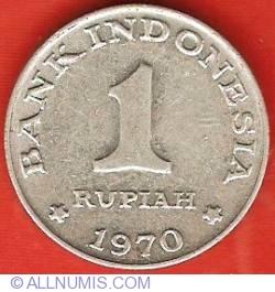 Image #2 of 1 Rupiah 1970
