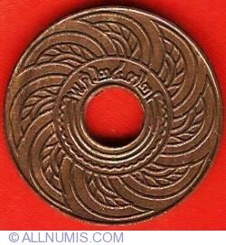 Image #1 of 1 Satang 1929 (BE2472)