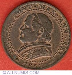Image #1 of 1 Soldo (5 Centesimi) 1867 ((XXI)