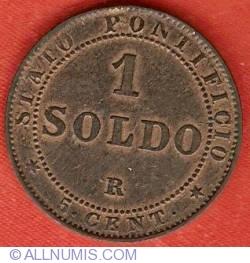 Image #2 of 1 Soldo (5 Centesimi) 1867 ((XXI)