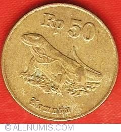 Image #2 of 50 Rupiah 1996