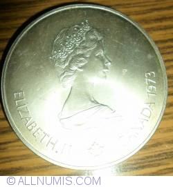 Imaginea #1 a 5 Dolari 1973 - Jocurile Olimpice de la Montreal