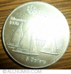 Imaginea #2 a 5 Dolari 1973 - Jocurile Olimpice de la Montreal