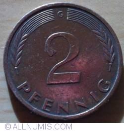 Image #1 of 2 Pfennig 1975 G