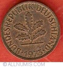 Image #2 of 1 Pfennig 1973 D